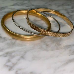 Jewelry - Antique gold bracelets